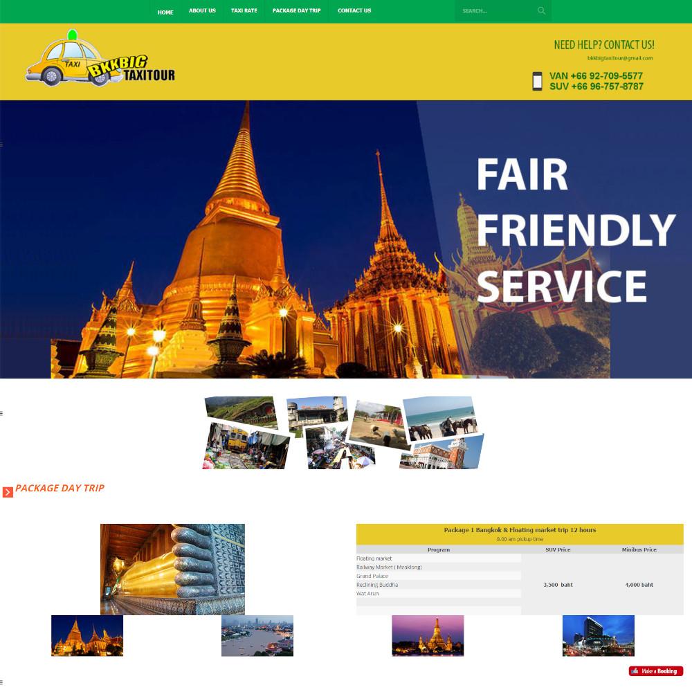 เว็บไซต์ องค์กร ธุรกิจ - เว็บไซต์สมาชิก เว็บไซต์สำเร็จรูป websitethailand - bkkbigtaxitour.com