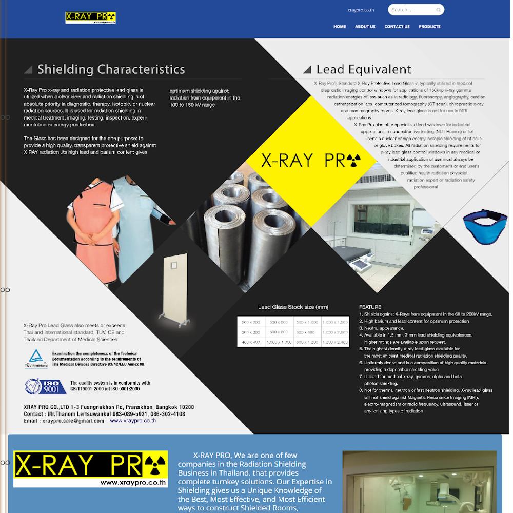 เว็บไซต์ องค์กร ธุรกิจ - เว็บไซต์สมาชิก เว็บไซต์สำเร็จรูป websitethailand - xraypro.co.th