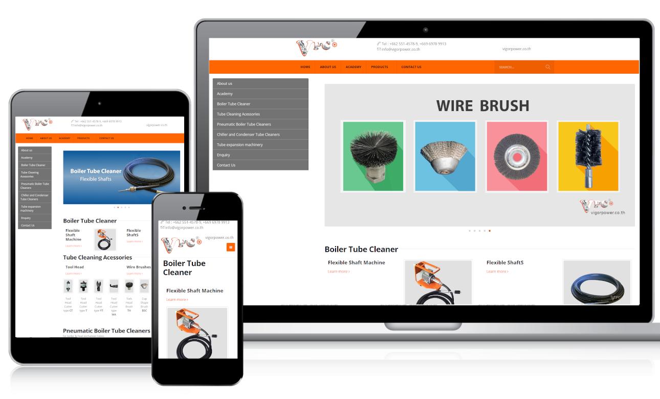 เว็บไซต์สำเร็จรูป ninenic ผลงานออกแบบเว็บไซต์องค์กร - เว็บสำเร็จรูปองค์กร ธุรกิจ webdesign portfolio
